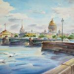 7 мая в 12:00-открытие выставки «Палитра Петербурга»