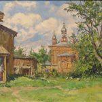 14 сентября в 14.00-открытие персональной выставки В.П. Пантелеева «Дневник художника»