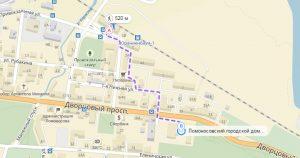 карта дворцовый